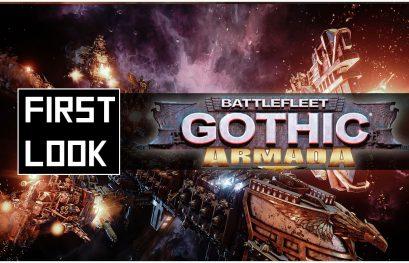 Battlefleet Gothic Armada : Aperçu en vidéo