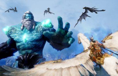Un petit tour sur Riders of Icarus et puis s'en va