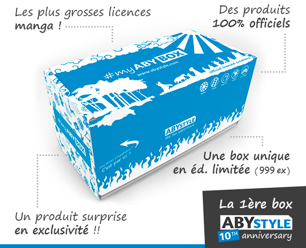 abystyle myabybox cover - MyABYBOX: ABYstyle fête ses 10 ans avec une box spéciale