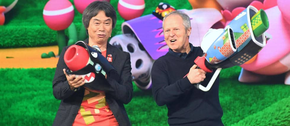 higeru miyamoto et yves guillemot e3 2017