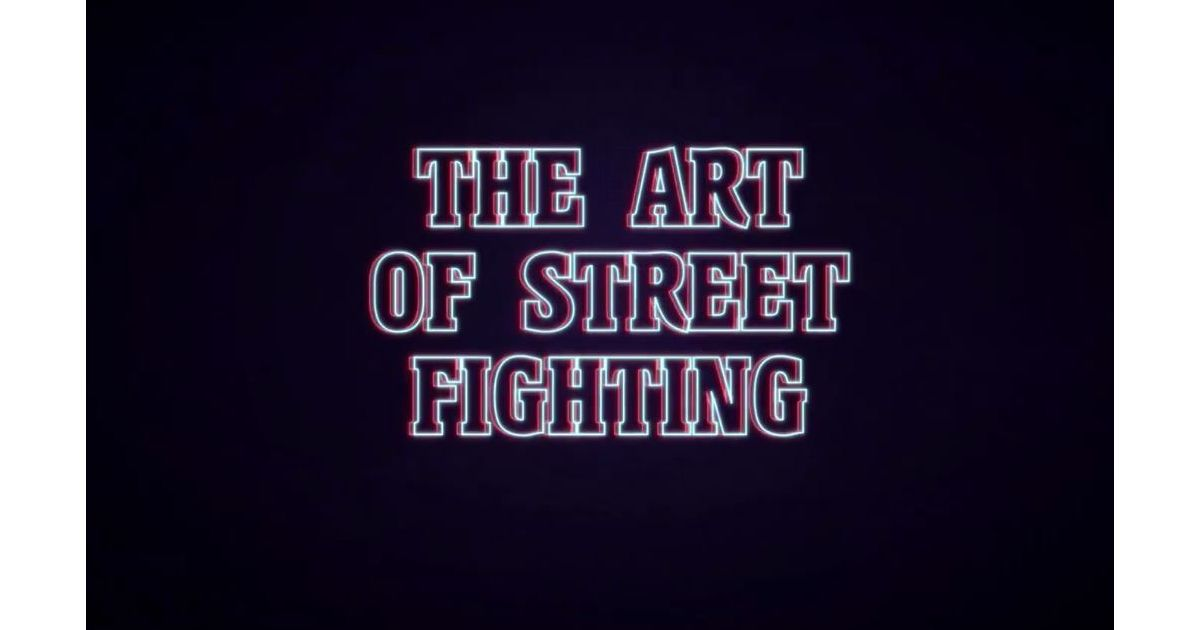 the art of street fighting cover