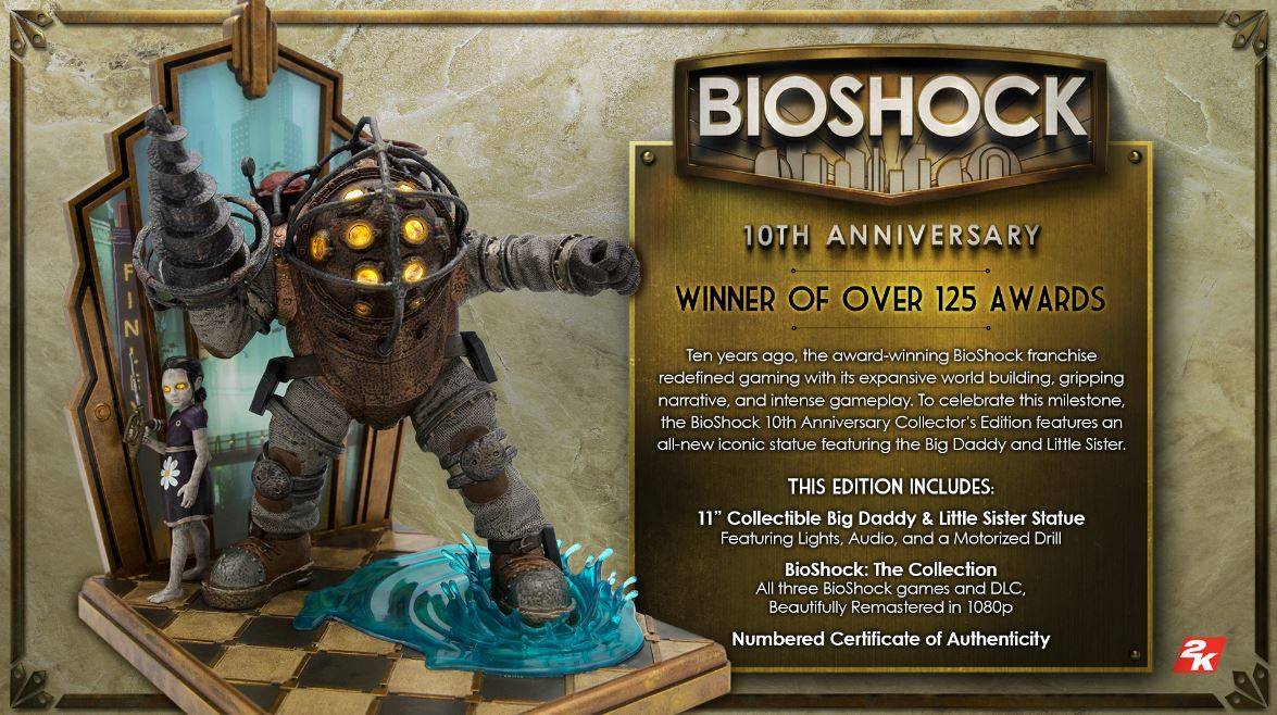 bioshock edition collector spéciale 10 ans cover