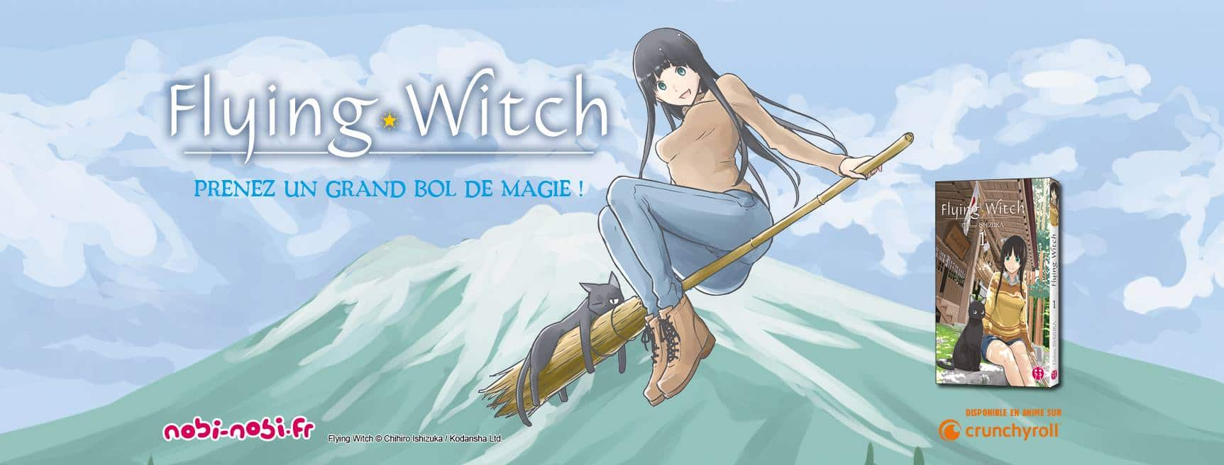 flying witch manga tome 1