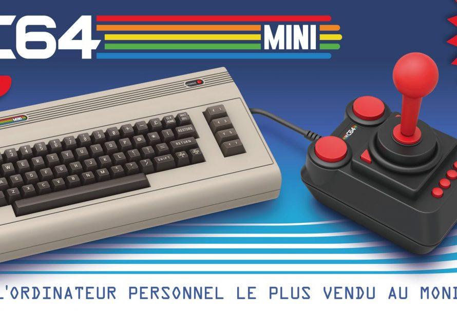 C64 Mini : Les précommandes sont ouvertes