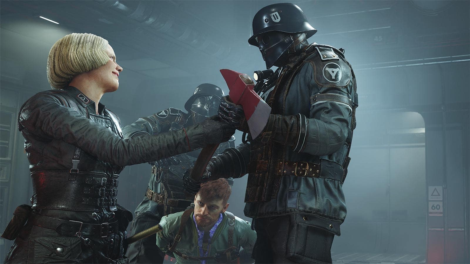 wolfenstein 2 the new colossus frau engel 2