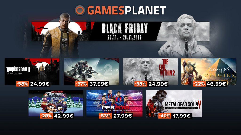 gamesplanet solde black friday