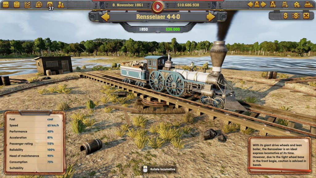 Railway Empire Preview Screenshots
