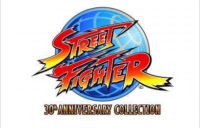 Street Fighter: Capcom fête les 30 ans  de la série en beauté