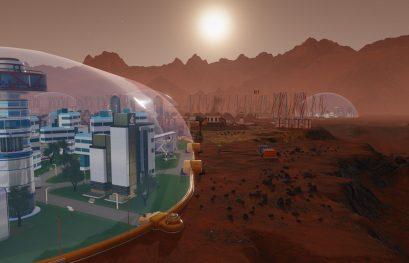Surviving Mars montre ses dômes en vidéo