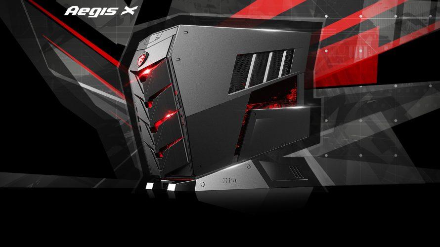 TEST PC – MSI Aegis X