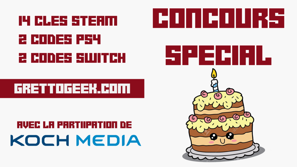 grettogeek 2 ans concours