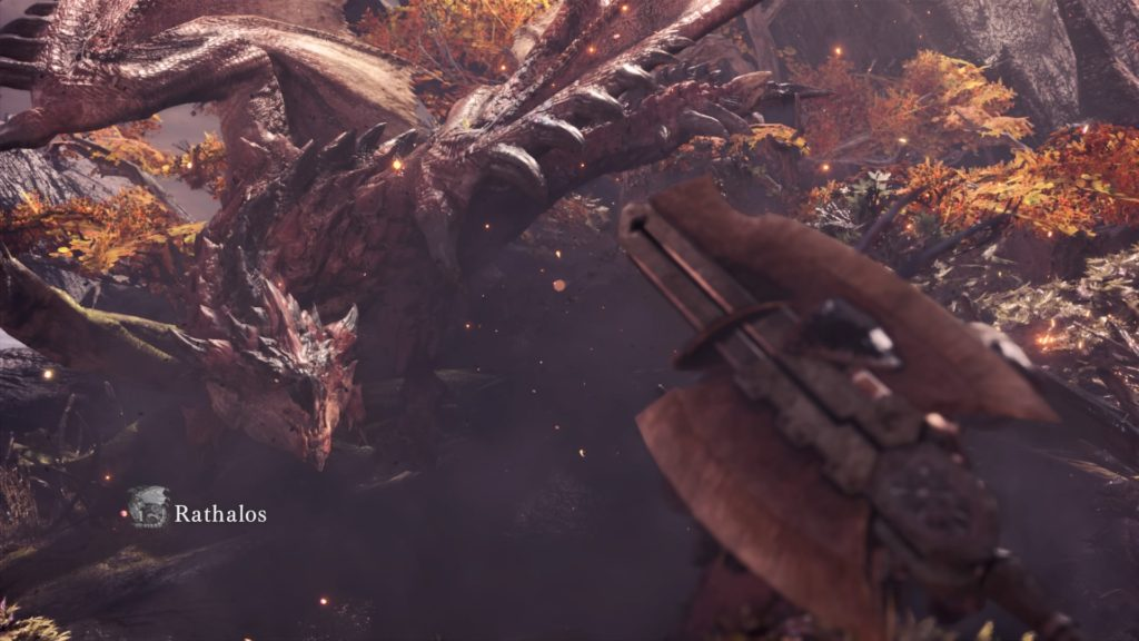 monster hunter world test