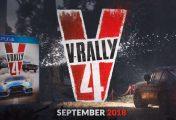 V-Rally 4 montre du gameplay en Hilclimb