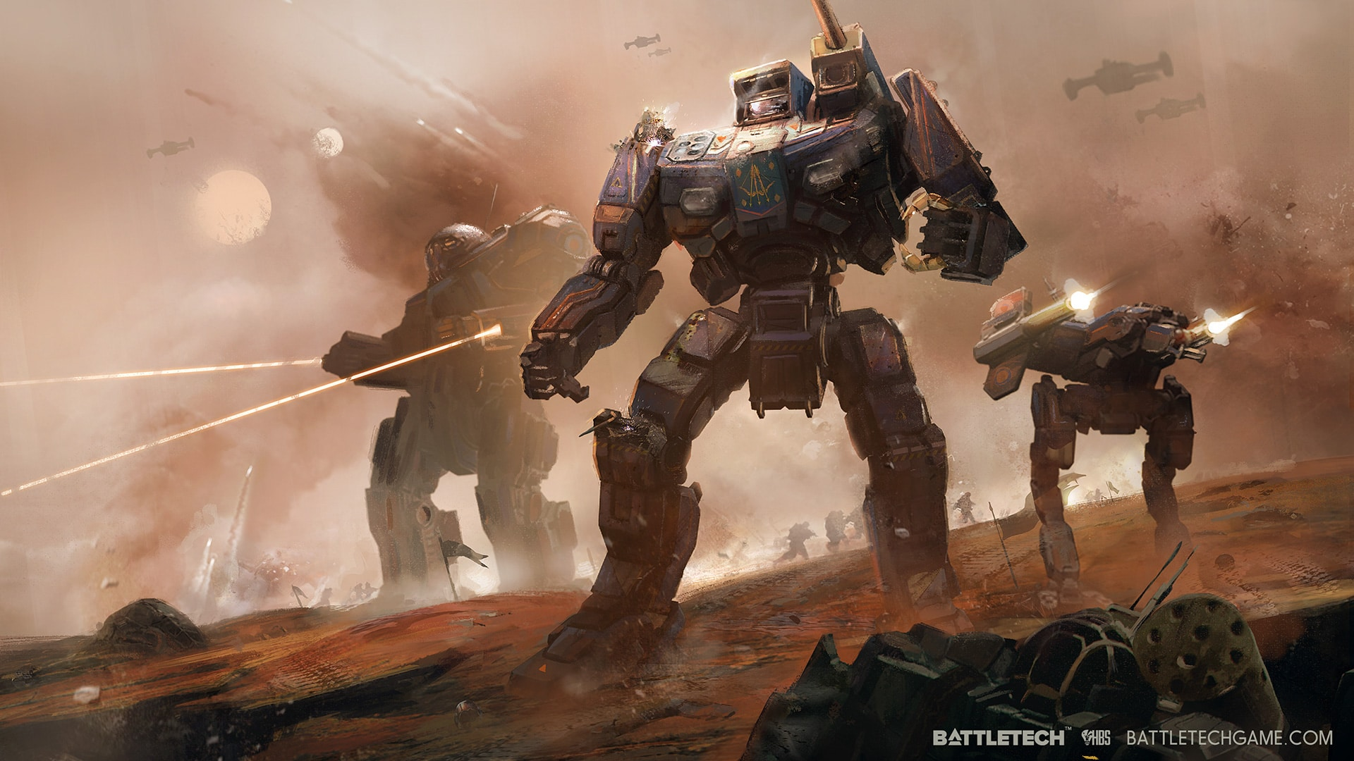 battletech gameplay trailer