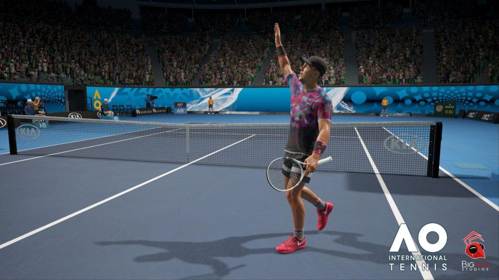 AO International Tennis Annonce