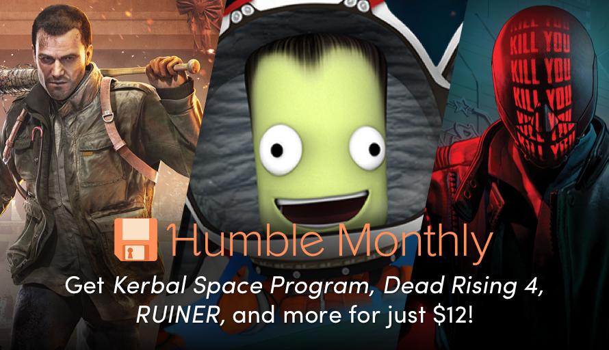[Bon Plan] Découvrez le Humble Monthly Mai 2018
