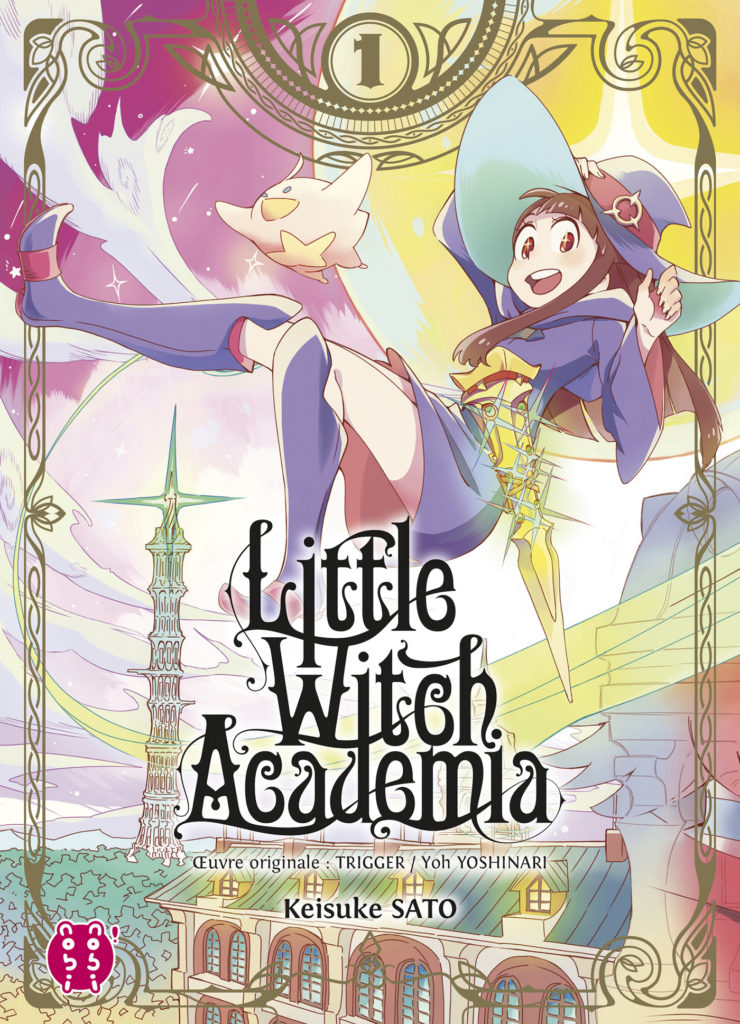 COUV LITTLE WITCH ACADEMIA NOBI NOBI