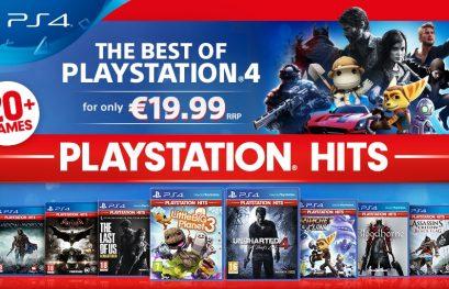 Playstation Hits : Les meilleurs jeux PS4 débarquent à prix réduit très prochainement