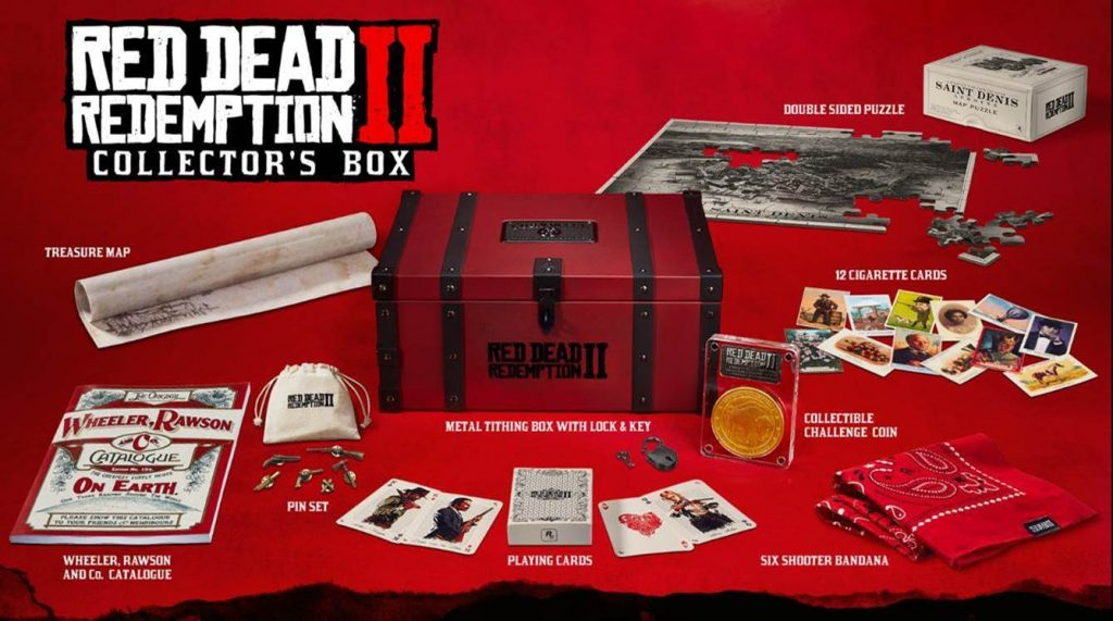 read dead redemption 2 collector box