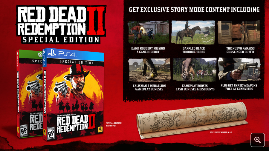 read dead redemption 2 special edition