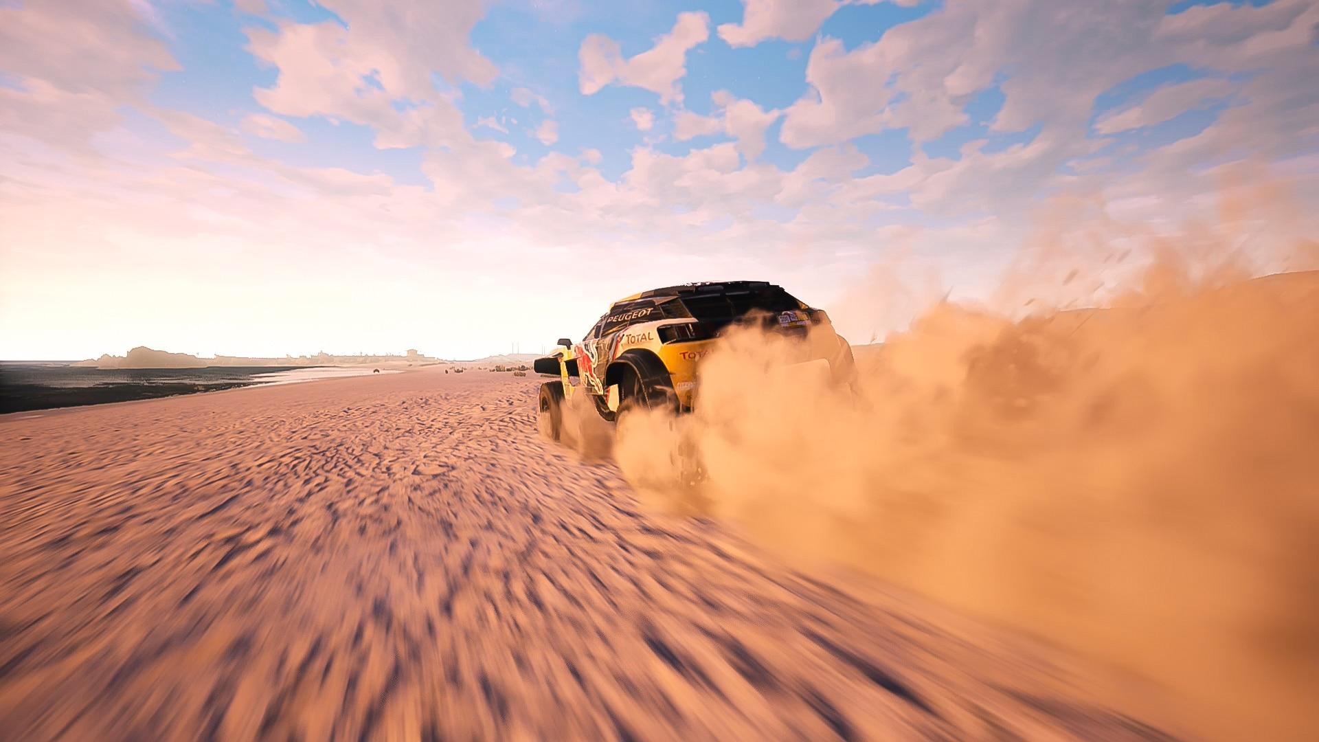 Dakar 18 screenshot