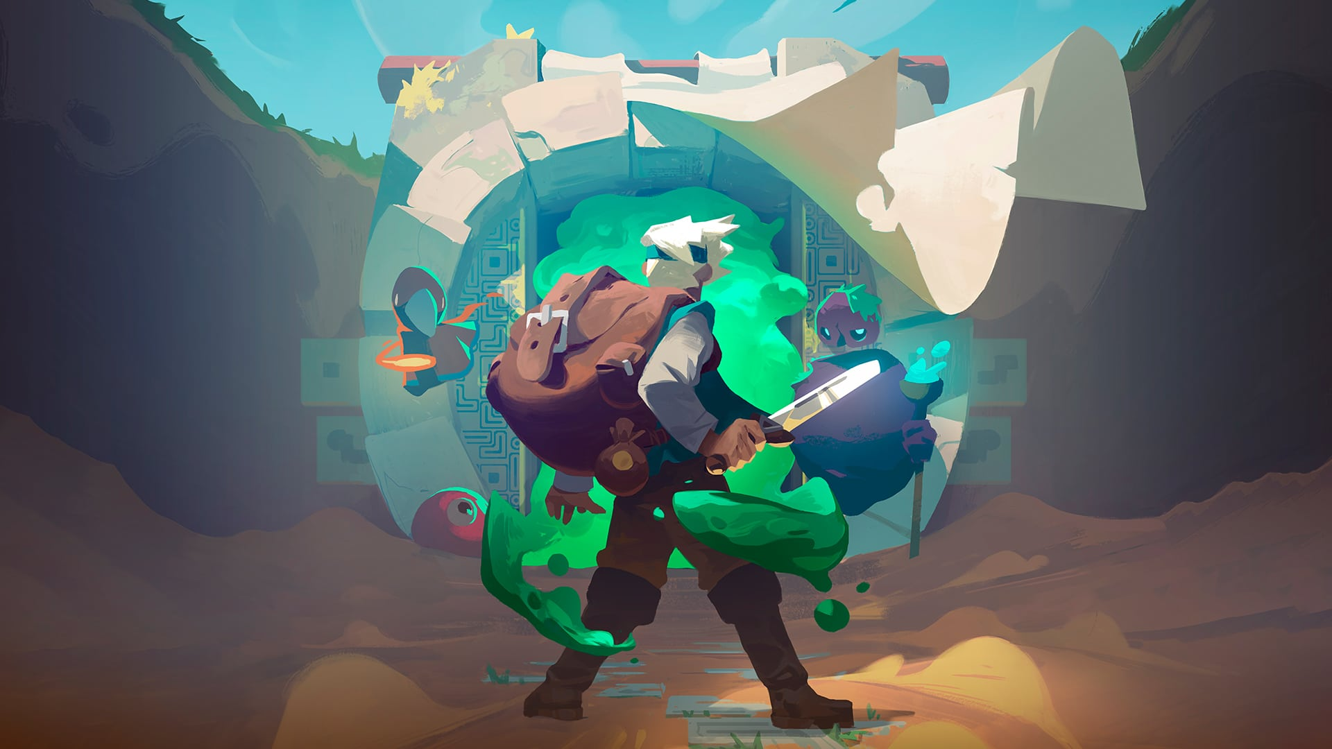 moonlighter cover test