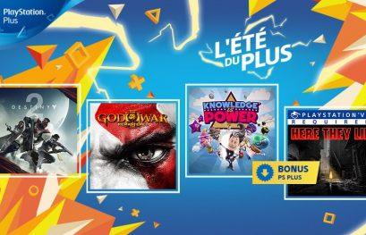 Playstation Plus : Les jeux de septembre 2018 sont connus