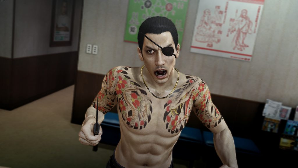 Yakuza 0 test screenhots