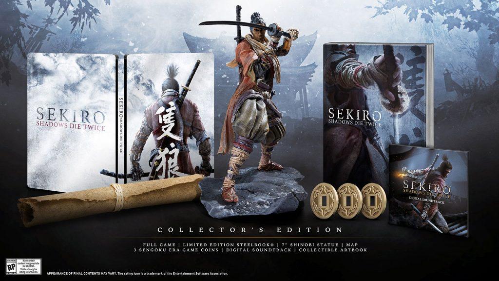 sekiro shadow die twice collector