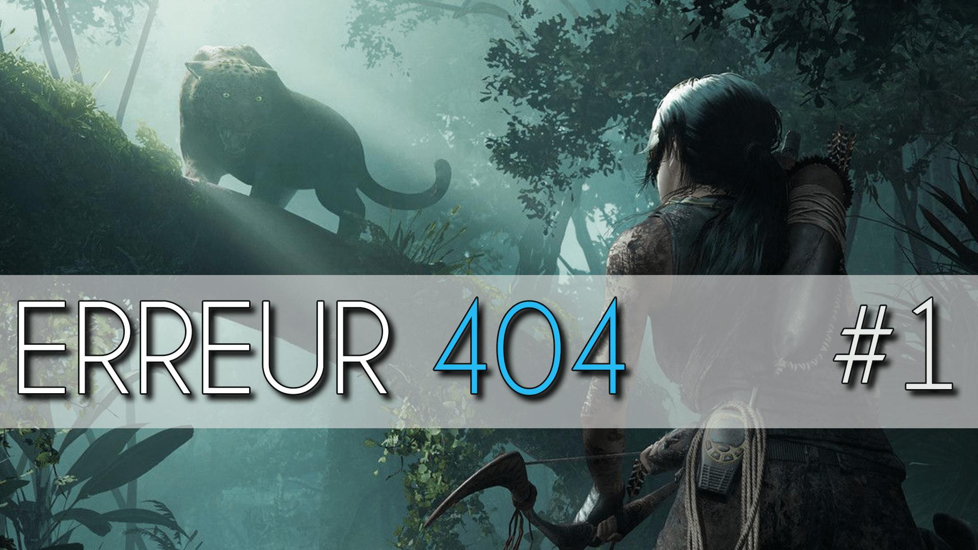 ERREUR 404 NUMERO 1