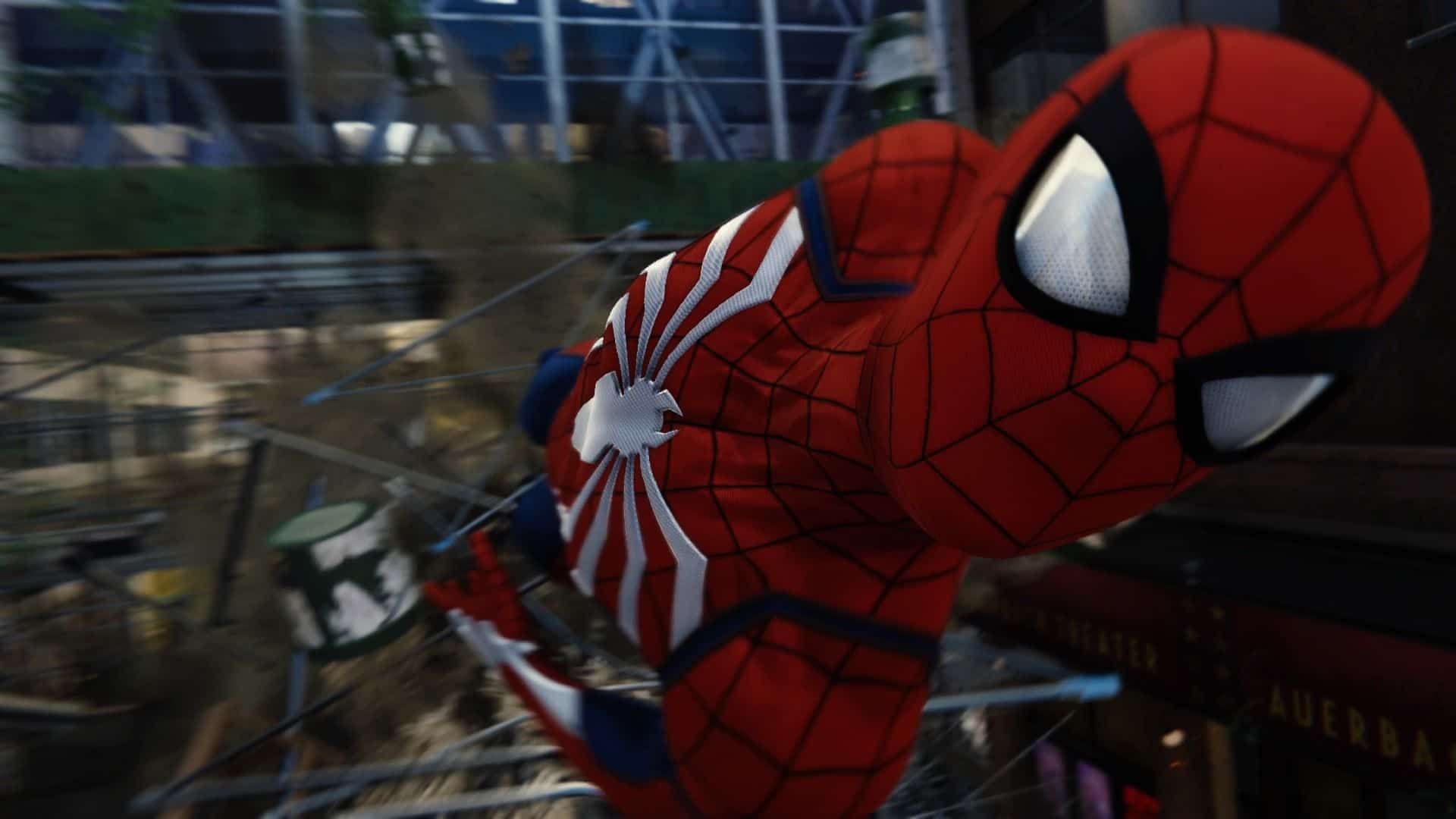 Marvel's Spider-Man screenshot test