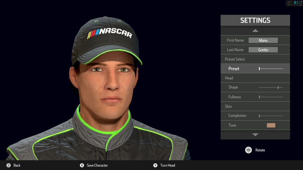 Nascar Heat 3 test screenshots