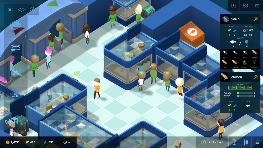 megaquarium test screenshot