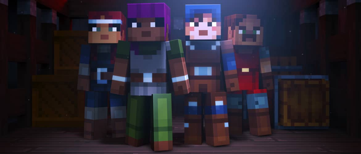 minecraft dungeons annonce 2019