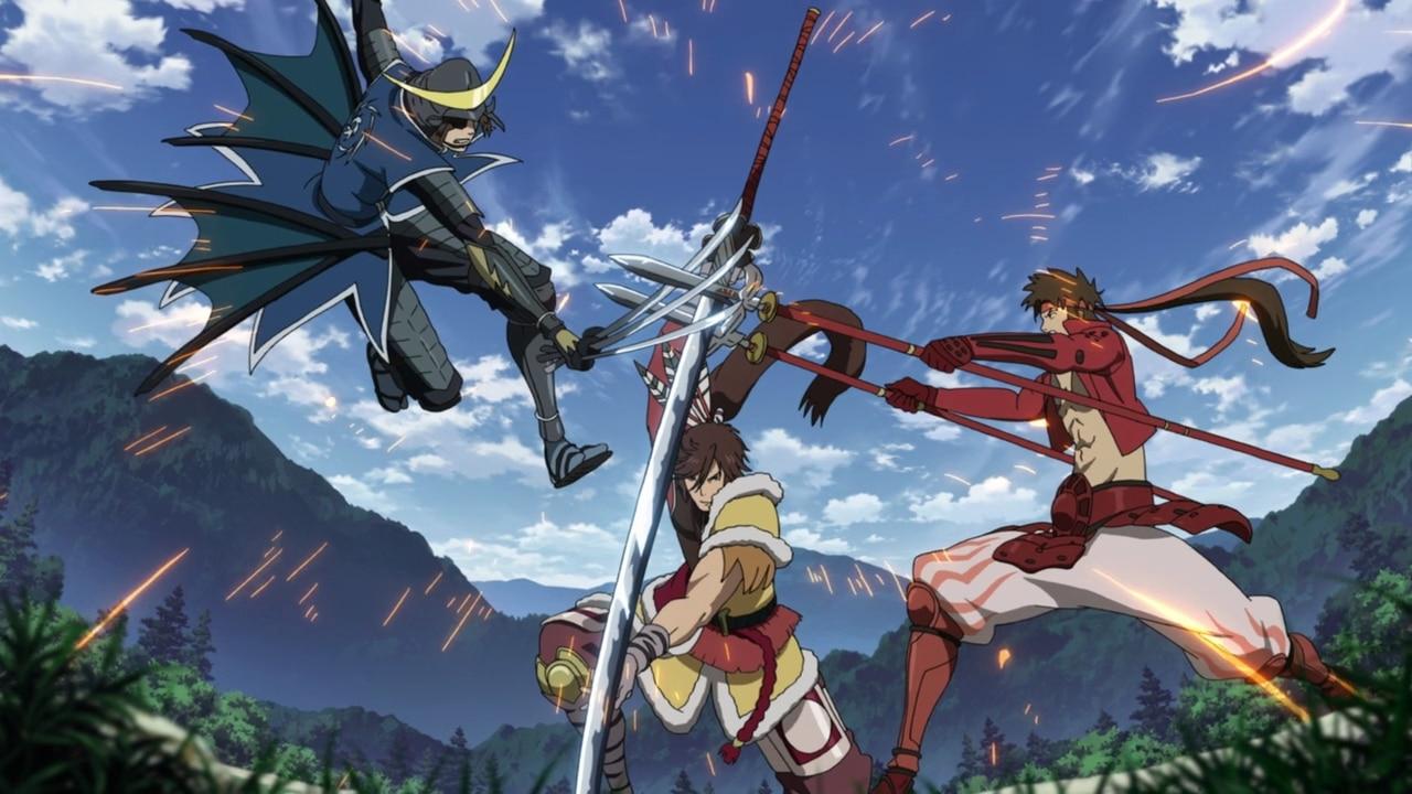 sengoku basara animé manga
