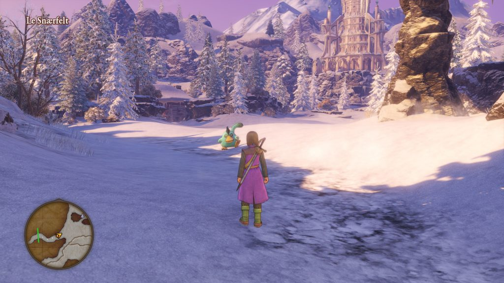 Dragon Quest XI Test screenshots