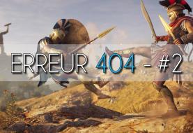 Erreur 404 #2 : L'actu du JV, Forza Horizon 4 et Assassin's Creed Odyssey