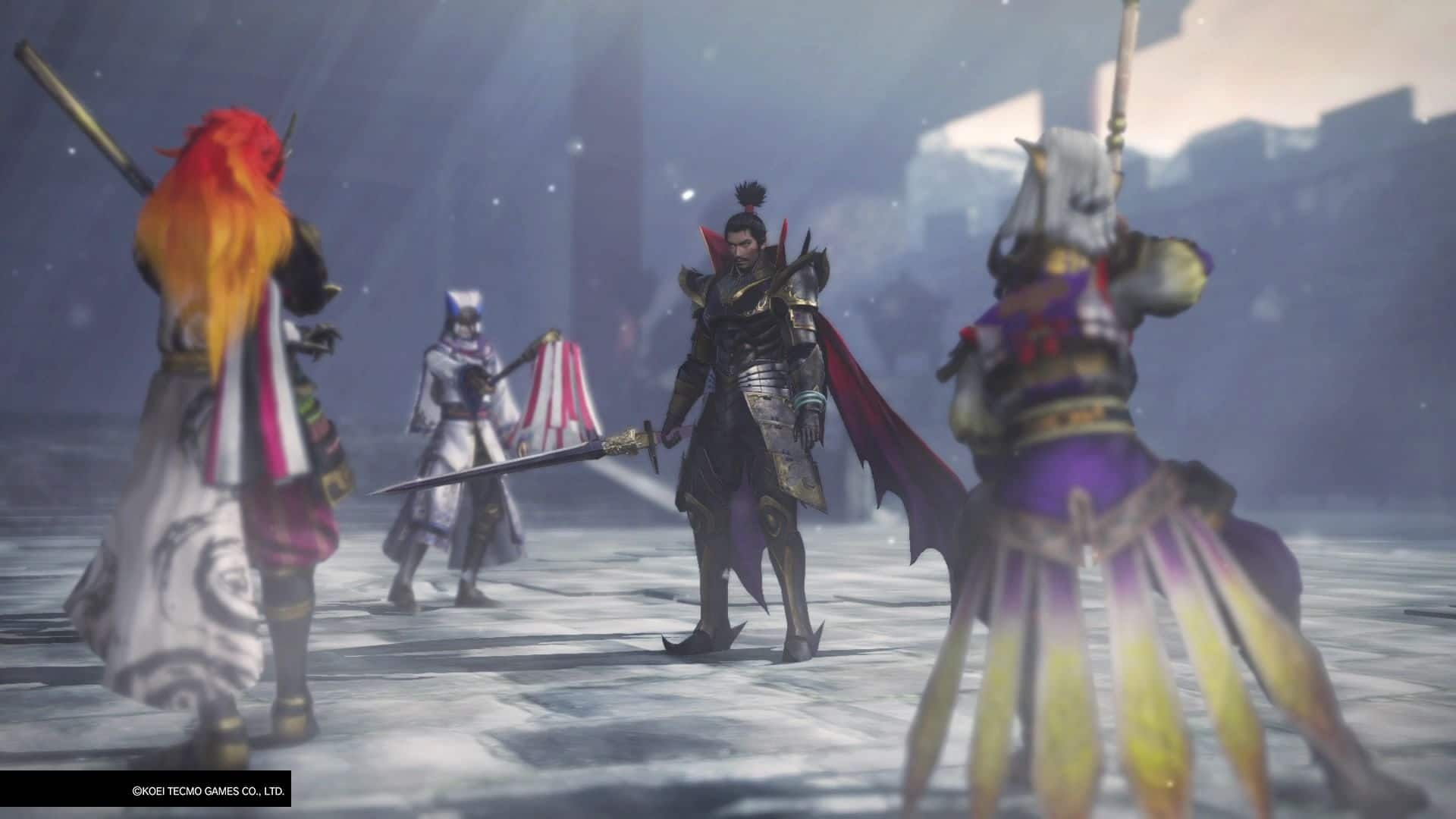 warriors orochi test screenhots