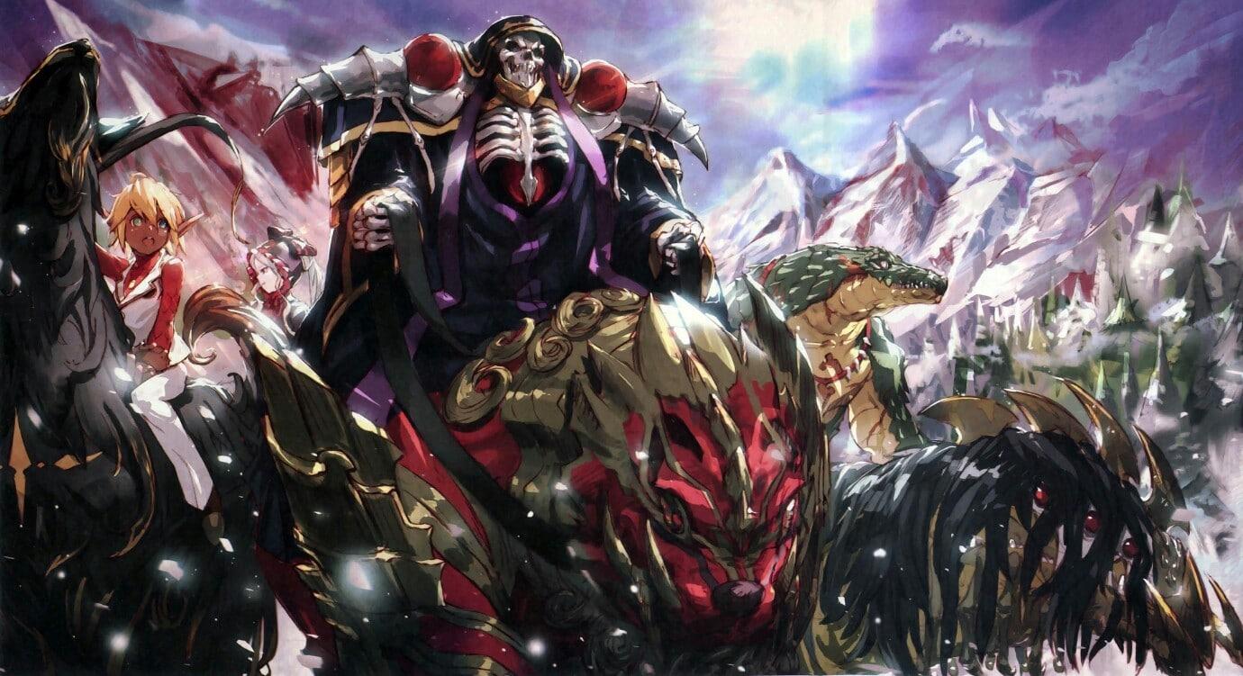 overlord saison 3 animés été 2018
