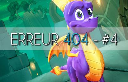 Erreur 404 #4 : L'actu du JV, Spyro, Medievil et GTX 1080 TI