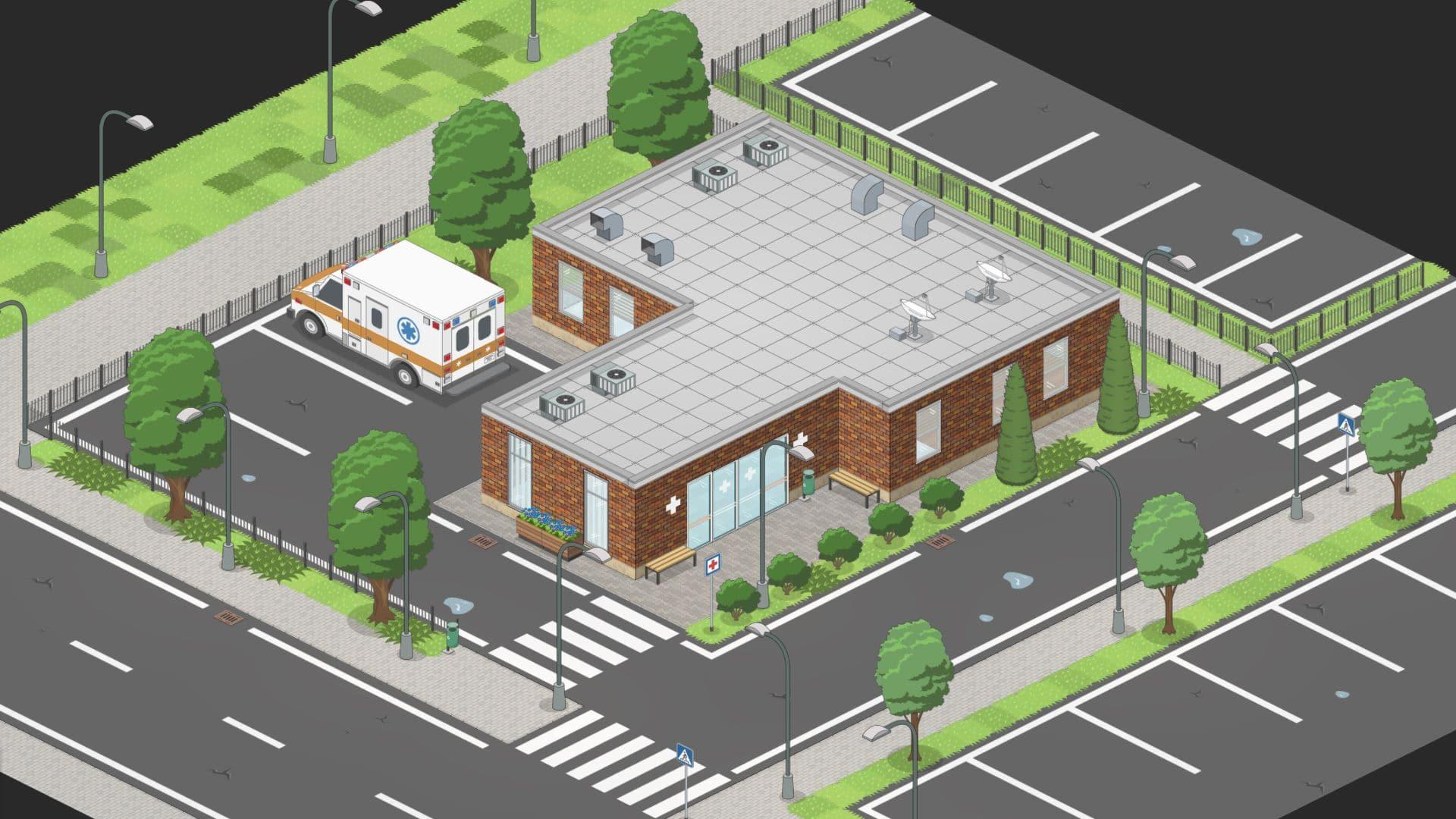 Project Hospital test screenshot