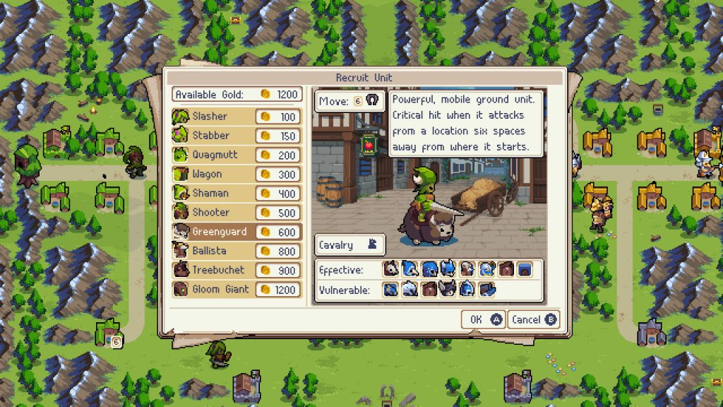 Wargroove Screenshots Test