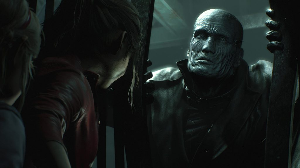 resident evil 2 remake screen