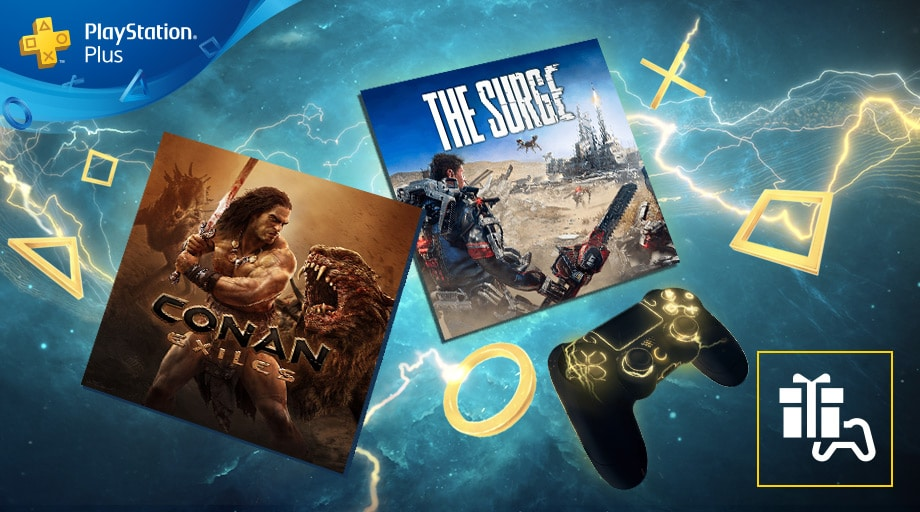Playstation S Plus - Les jeux d'avril 2019