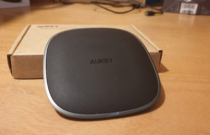 AVIS Aukey Graphite Lite Wireless Charger : Un must have tout simplement
