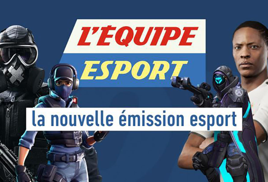 L'Equipe lance son émission esport sur Twitch
