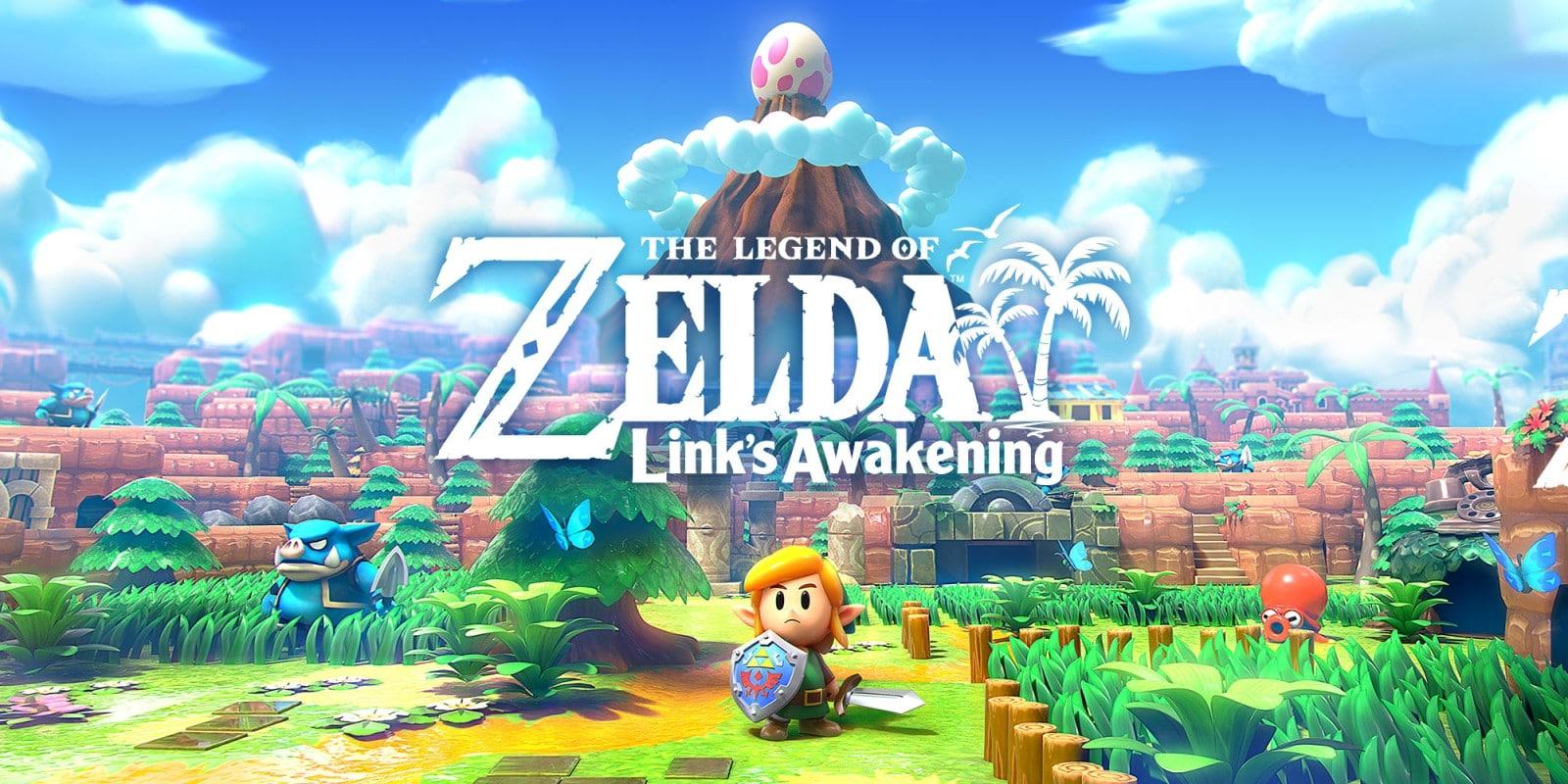 link's awakening jeu video y'a quoi qui sort