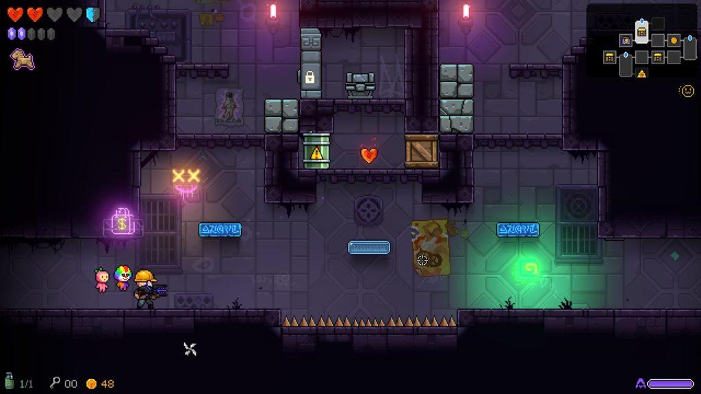 neon abyss pc screenshots
