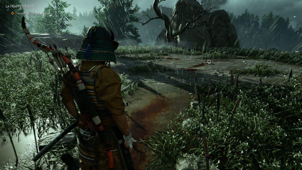 Ghost of Tsushima screenshot test