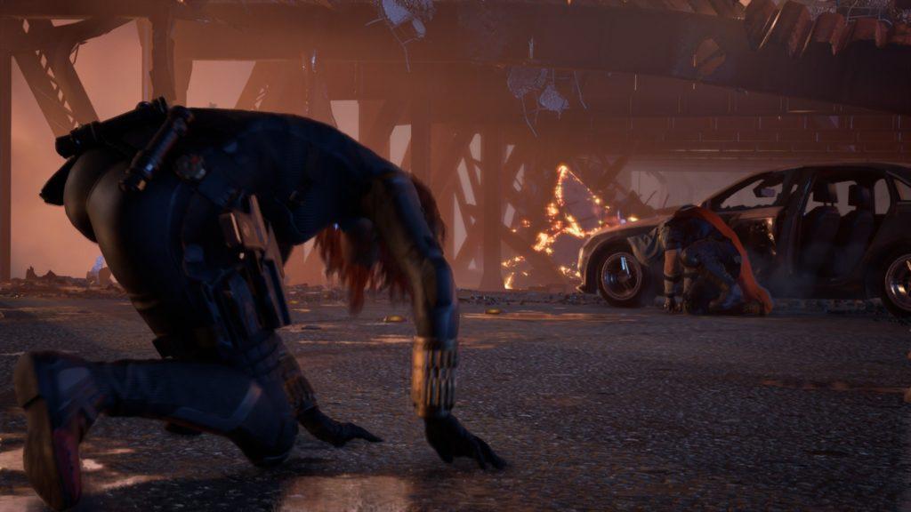 marvel's avngers - black widow